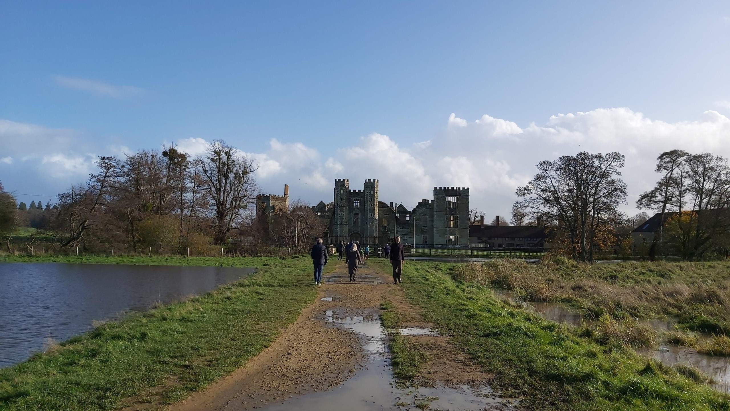 Cowdray ruins Easebourne